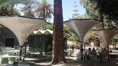 La Asociación Nuestro Patrimonio cuestiona el diseño de los nuevos parasoles del quiosco del García Sanabria dentro de un BIC