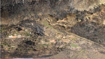 El incendio de Gran Canaria llegó 'a las puertas' de las cuevas de Risco Caído pero no se vieron afectadas