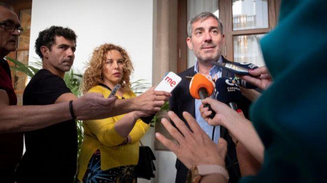 Clavijo reclama a Sanidad que desbloquee el retraso de la nueva campaña del IMSERSO