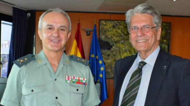 Gobierno y Guardia Civil valoran muy positivamente la seguridad lograda durante los incendios de Gran Canaria