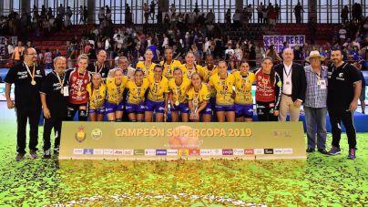 Rocasa Gran Canaria suma su segunda Supercopa de España