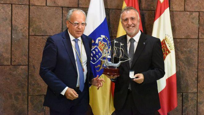 """Ángel Víctor Torres celebra que """"el vínculo entre Canarias y América se mantenga a través de los siglos"""""""