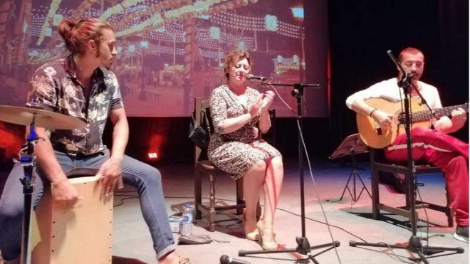 La cantante Nieves Hidalgo actuará este martes en la Sala Teatro Timanfaya