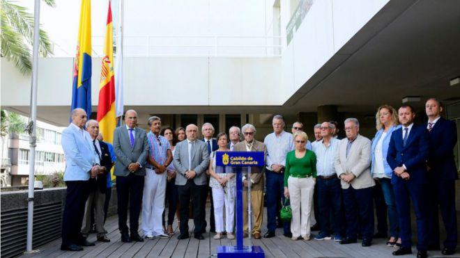 Banderas a media asta para recordar a los 488 canarios fallecidos en el naufragio del Valbanera hace un siglo