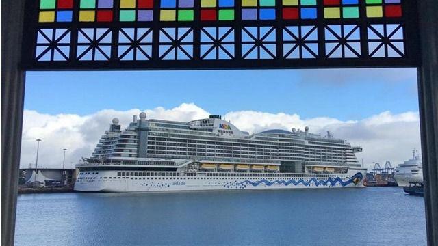 El turismo de cruceros crece un 10% en Canarias y suma 1,4 millones de pasajeros hasta julio