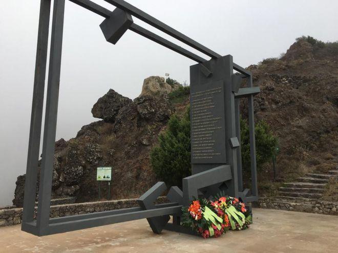 La Gomera recuerda a las víctimas mortales del incendio de 1984