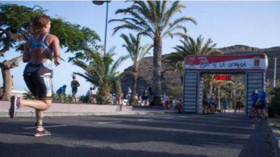 El Triatlón Isla de La Gomera obliga a efectuar cortes en las salidas de San Sebastián hacia el norte y el sur