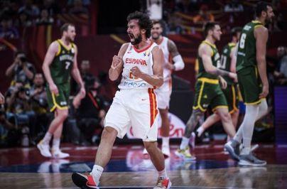 España, dos prórrogas ante Australia, y a a la final