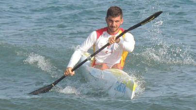 Jorge Enríquez subcampeón del mundo juvenil de surfski