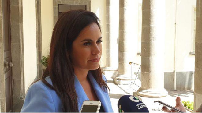 """Espino: """"Ciudadanos ha desmontado en la Comisión de Presupuestos el relato del consejero de Hacienda sobre el déficit de Canarias"""""""