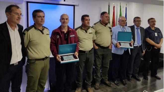 Las Asociaciones de Caza de España premian a los Agentes de Medio Ambiente del Cabildo de Gran Canaria