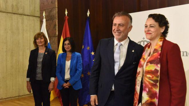 El Gobierno y el Ministerio de Trabajo firman la transferencia a Canarias de los 42 millones del PIEC