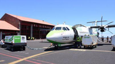 Binter establecerá cuatro nuevas frecuencias regulares entre Tenerife y El Hierro de fin de semana