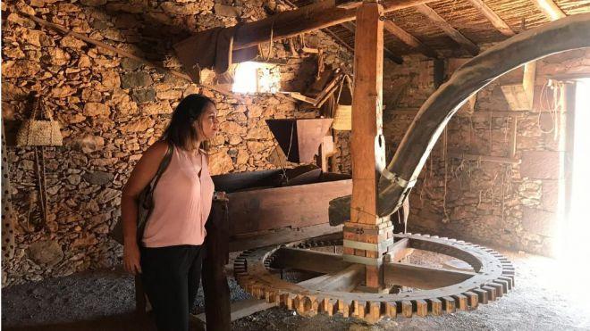 Itinerario cultural en los pueblos del interior como oferta complementaria al Crucerista