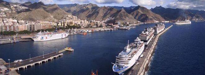 Los puertos tinerfeños se consolidan entre las grandes líneas de cruceros