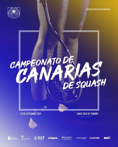 Santa Cruz de Tenerife acoge el campeonato de Canarias de Squash del 25 al 28 de septiembre