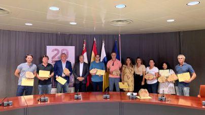 El Cabildo distingue a diez restaurantes dentro del II Plan de Mejora del Sector de la Restauración