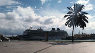 El crucero Britannia despide septiembre en Las Palmas de Gran Canaria