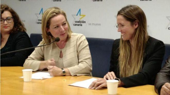 Ana Oramas y María Fernández, propuestas de CC al Congreso de los Diputados