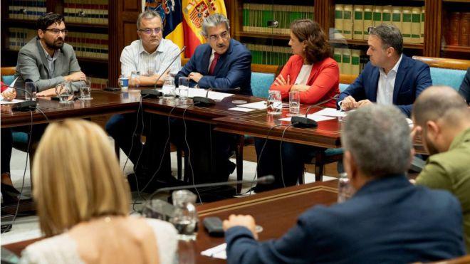 Román Rodríguez apela al consenso para mantener los fondos europeos y reforzar la posición canaria en la UE