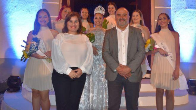 Mari Brito elogió, en su pregón de las fiestas patronales de El Rosario, la