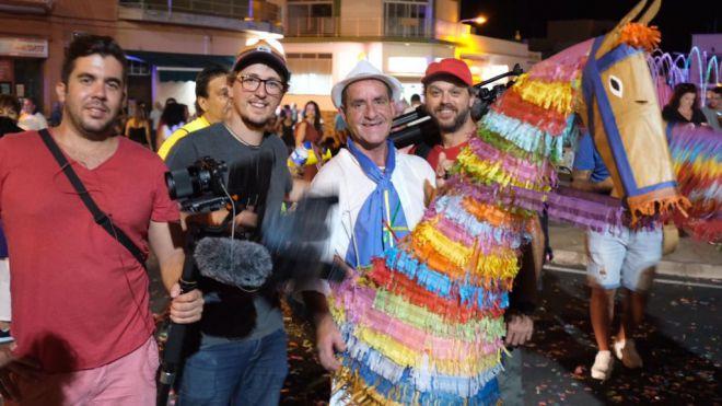 La Palma acoge el rodaje de la serie de televisión 'Atlántico'