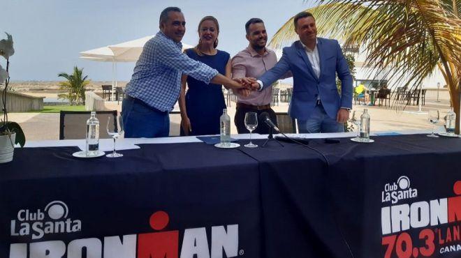 Playa Blanca acoge a mil triatletas en el Ironman 70.3 Lanzarote