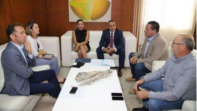 Gobierno de Canarias y Cabildo de Lanzarote abordan la problemática de la viña y el acceso al agua de riego