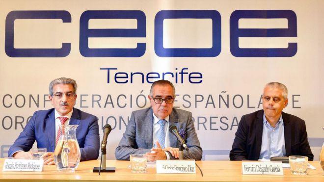 Rodríguez expone al empresariado las dificultades para diseñar unos Presupuestos sin información precisa