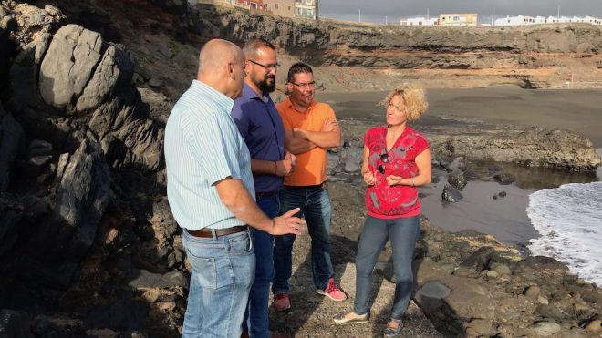 Telde abre un periodo de consulta popular para elegir la playa de los perros