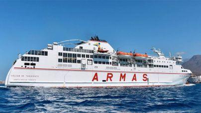 Armas incorpora la alta velocidad a su línea entre La Luz y Morro Jable