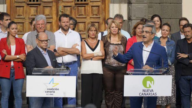 """CC-PNC y NC unen sus fuerzas para """"hacer más fuerte a Canarias"""""""