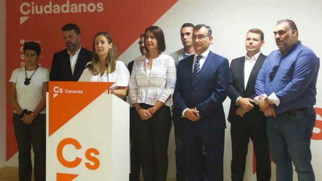 """Rodríguez: """"Cs ha demostrado con hechos y no con palabras que puede defender los intereses de Canarias"""""""