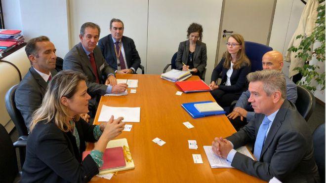 El Gobierno canario busca soluciones en Bruselas ante los desafíos del sector primario por el Brexit