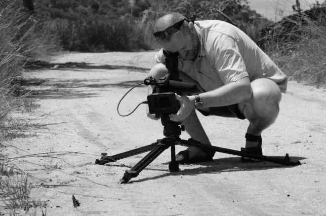 El reconocido cineasta Jaroslav Jindra graba contenidos en La Palma para el programa con más audiencia de la televisión checa