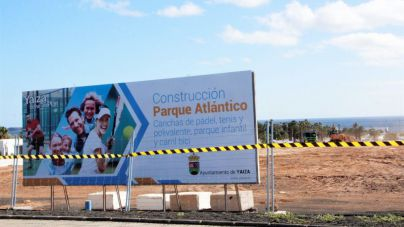 Yaiza resuelve el contrato de obras del Parque Atlántico por incumplimiento de la empresa