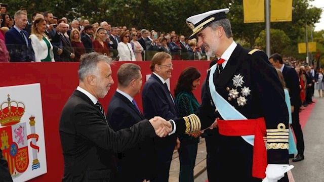 Torres afirma que Canarias caminará 'de la mano' con el Estado para 'construir un país más justo'