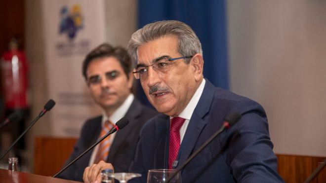 Román Rodríguez resalta la utilidad del Interreg para la proyección de los intereses de Canarias