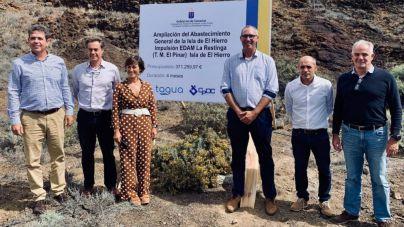 Transición Ecológica y Cabildo de El Hierro acuerdan la ampliación del abastecimiento general de la isla