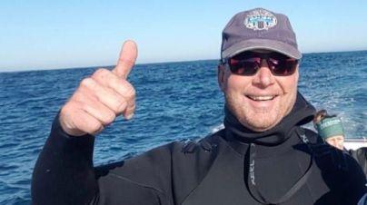 Rainer Schimpf, el submarinista que fue engullido y liberado por una gran ballena, en `Arona Son Atlántico´