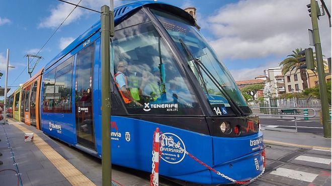 CC-PNC lamenta que Arriaga no inicie la ampliación del tranvía a Los Rodeos