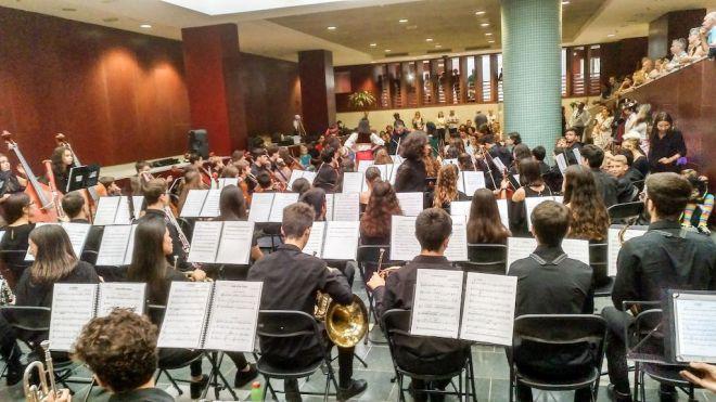 La Candelaria acoge un concierto de la Orquesta Filarmónica Juvenil de Tenerife inspirado en Mary Poppins