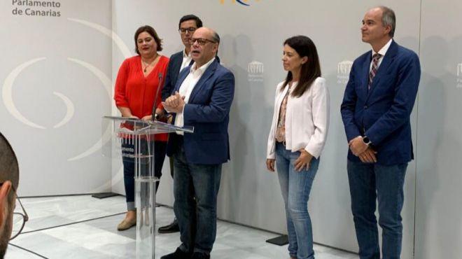 """José Miguel Barragán: """"Hemos retrocedido en la defensa de los intereses de Canarias tras 100 días de Gobierno"""""""