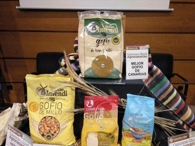 Un gofio de millo y trigo de La Gomera es elegido el Mejor de Canarias