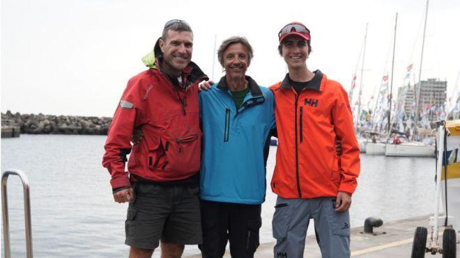 Miguel Ángel Rondón, Pep Costa y Rafael Fortes, los españoles de la regata Mini-Transat