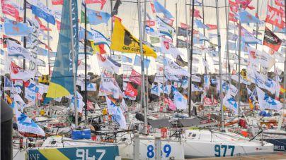 La salida de la regata en solitario Mini-Transat brindará un emocionante espectáculo náutico
