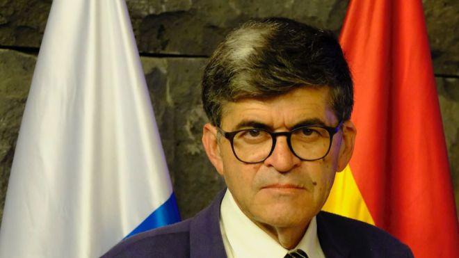 José William Montesdeoca Rodríguez, delegado del Gobierno en Caracas