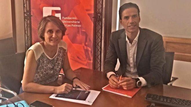 Gobierno y Fundación Universitaria de Las Palmas colaborarán en la formación del personal público