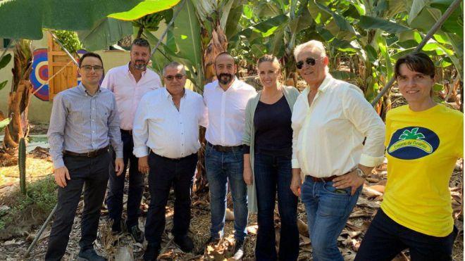 """Cañas: """"Los nacionalistas canarios no tienen voz en Europa para defender al plátano canario"""""""