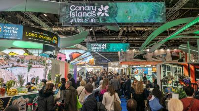 Éxito de público y profesionales en el Pabellón de Canarias
